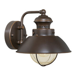 Vaxcel - Harwich Wall Sconce - Vaxcel OW21581BBZ Harwich Burnished Bronze Outdoor Wall Sconce