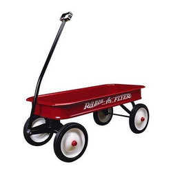 Radio Flyer Classic Red Wagon - Take that toy wagon out of the garage and fill it with gifts and place it next to the Christmas tree.