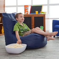 "Sweet Spot Vinyl Video Bean Bag Chair - Sit back and enjoy your favorite movies or video games in this Sweet Spot Vinyl Video Bean Bag. Made with a comfortable """"sweet spot"""" design this comfy bean bag chair provides hours and hours of relaxation. Made of durable vinyl the chair is easy to clean and maintain. The """"sweet spot"""" is made out of lycra. In accordance with the Consumer Product Safety Commission this bean bag features a resealable safety closure. The closure seals each zipper and protects children from the age of 12 and younger. About Ace Bayou CorporationThe product above is manufactured by Ace Bayou Corporation. Founded in 1986 Ace Bayou has grown into a group of diverse lifestyle-focused divisions. They all feature innovative quality products at prices that allow everyone to enjoy the benefits. Their lifestyle furniture division features youth and adult casual furniture including unique bean bags video rockers recliners and special seating products. As a recognized innovator in these categories Ace Bayou provides products that fit your lifestyle."