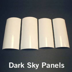 "Kichler - Kichler 4802WH 6-1/2""H Dark Sky Panel Set in White 4802WH - This light Dark Sky Panel Set from the Accessory collection by Kichler will enhance your home with a perfect mix of form and function. The features include a White finish applied by experts.Dark Sky panel setBulbs Included: No Collection: Accessory Energy efficient: No Fan Light Kit Included: No Finish: White Height: 6-1 2 Standard Pack: 1 Suggested Room Fit: Kitchen Ul Listed: NORQ Weight: 0.25"