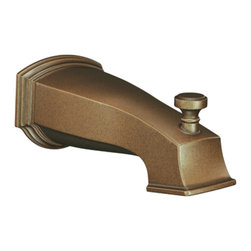 Moen - Moen S3859AZ Rothbury Diverter Tub Spout - The Rothbury series features a relaxed blend of vintage design and traditional elements that coordinate perfectly with both casual and luxurious decorating.