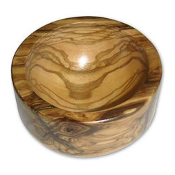 "Berard - Berard Olive Wood Pinch Bowl - 3.1"" - In a pinch, you are always looking for an easy way to prepare food.  With this Berard olive wood pinch bowl you can easily combine your favorite spices for just such a moment.  Bowl is constructed from a single piece of olive wood, so each piece will be one of a kind.  Berard recommends hand washing only.  Pinch bowl measures 3.1 inches and weighs 8 ounces."