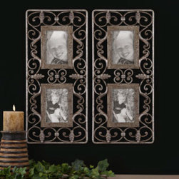 "12770 Photo Frames Alternative wall decor by uttermost - Get 10% discount on your first order. Coupon code: ""houzz"". Order today."