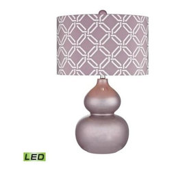 Dimond Lighting - Table Lamp - Dimond Lighting D2528-LED  in LILAC LUSTER
