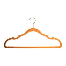 Thin Nonslip Hangers - Bulky wooden hangers take up a considerable amount of space. Subbing those out for these slim-lined, nonslip versions will double your closet space in a matter of minutes.