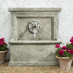 St. Aubin Garden Wall Fountain - Weight : 743 lbs.