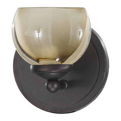 Triarch International - Triarch 25371 Retro Bronze Wall Sconce - Triarch 25371 Retro Bronze Wall Sconce