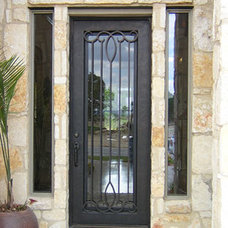 Modern Front Doors by International Iron and Stone LLC