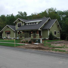 Eclectic Exterior by New Urban Home Builders