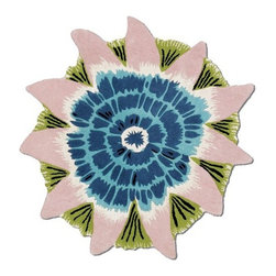 Missoni Home - Missoni Home | Botanica Blue Rug - Design by Rosita Missoni.