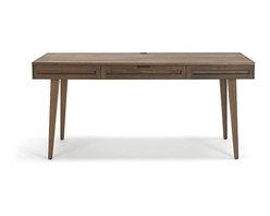 Jesper Office - Jesper Office   Highland 75 Collection 64-Inch Desk - Designed in Scandinavia.