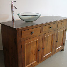 Rustic Bathroom Vanities And Sink Consoles by LakeandMountainHome