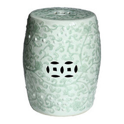 Celadon Green Porcelain Stool
