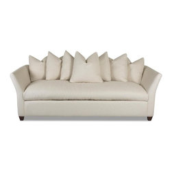 Klaussner Living Room Fifi Sofa - White sofas are not for the faint of heart — but they look so amazing!