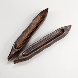 Leaf Wood Incense Burner, Set of 2 -