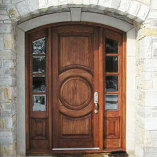traditional front doors by solid-wood-doors.com