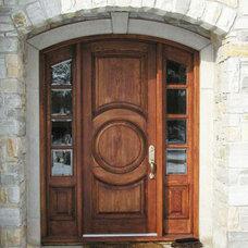 Traditional Front Doors by solid-wood-doors.com