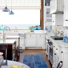 {For the Love of Kitchens} Blue & White Kitchen - The Inspired Room