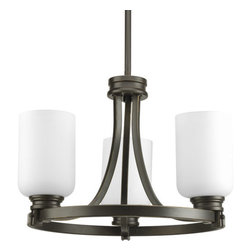 """Progress Lighting - Progress Lighting P3954 Orbitz 17"""" Three-Light Semi-Flush Mount Ceiling Fixture - Enhance your decorating options with this ceiling fixture that can be mounted either semi-flush or as a pendant.Features:"""