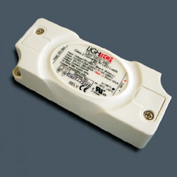 "Lightech - Lightech LED 10w converter - This electronic converter has an input of 100-240V  50/60Hz. The output level is 2-14V . Features an electronic internal reset-enabled short circuit protection. Thermal protection and overload regulation.   Product description: This electronic converter has an input of 95-265v50/60Hz. The output level is 2-28V . Features an electronic internal reset-enabled short circuit protection. Thermal protection and overload regulation. 350 mA constant current. Handles 1-10 1w LEDs in a series.                         Dimensions:                         1.10"" x 1.57 x 3.93""""             28 mm x 40 mm x 100 mm"