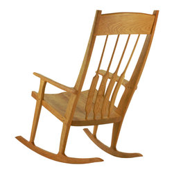 TY Fine Furniture - Sunrise Rocking Chair - Sunrise rocker is a dream—lovingly handcrafted to meet the needs of new parents and growing families. (Hint: It's a thoughtful gift from grandma and gramps.)