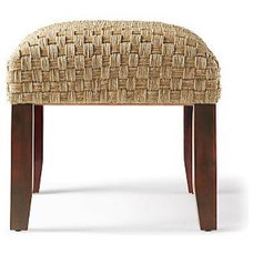 Eclectic Footstools And Ottomans by Gump's