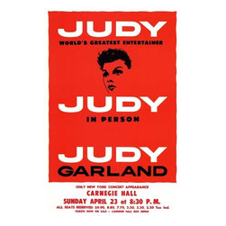 Judy In Person (Broadway) 11 x 17 Poster - Style A - Judy In Person (Broadway) 11 x 17 Poster - Style A