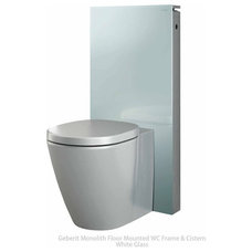 Contemporary Toilets by UK Bathrooms