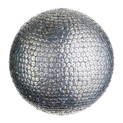 Silk Plants Direct - Silk Plants Direct Sequin and Glitter Ball Ornament (Pack of 4) - Silver - Pack of 4. Silk Plants Direct specializes in manufacturing, design and supply of the most life-like, premium quality artificial plants, trees, flowers, arrangements, topiaries and containers for home, office and commercial use. Our Sequin and Glitter Ball Ornament includes the following: