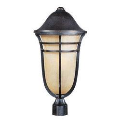 Maxim Lighting - Maxim Lighting 40100MCAT Westport VX 1-Light Outdoor Pole/Post Lantern - Features