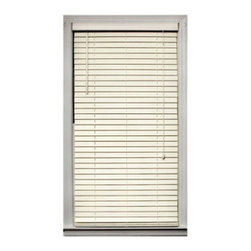 None - Bamboo 2-inch Blind (72 in. x 64 in.) - Sleek bamboo shade will give any room in your home an elegant lookBlind gently filters light and adds a warm look to your home decorWindow treatment is made with 100-percent real bamboo