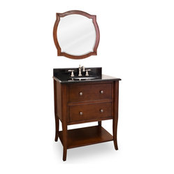 Lyn Design VAN080 Wood Vanity