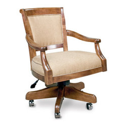 California House - eastgate swivel game chair (fabric) - Manufactured in the USA, we are proud to offer our customers this premium game room furniture from a third generation, family-owned company.