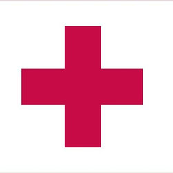 Red Cross Flag 3x5 Nylon - Nylon Outdoor World Flag U.S. Flag Store's Hungary World Flag is printed on nylon flag fabric created specifically for outdoor use. This ensures that this is one of the toughest Hungary Flags on the market. In addition to being exceptionally tough, nylon is also very lightweight. Even though this flag measures 2' x 3' it will fly in the gentlest breeze. Finally the design of the Hungary flag is accurate to the specifications of the United Nations, and finished with high quality headers and rust-resistant grommets.