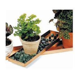 Achla - 20 in. Copper Planter Tray - There are many ways in which a planter tray can attempt to help your home or garden area.  Not only can this beautiful copper tray improve the visual appearance of your area, but it can also provide a variety of functional capabilities.  For example, you can keep your plants organized together on the trap.  This elegant polished copper planter tray will allows your favorite plants to shine in pots of your choosing.  This tray also looks great in pairs. * Polished Copper. 20 in. L x 5 in. W