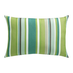 "Sunbrella Sanibel Stripe 20""x13"" Outdoor Pillow"
