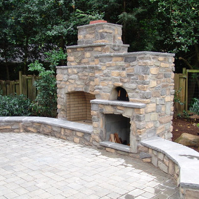 1000 Images About Outdoor Fireplace On Pinterest Fireplaces Outdoor Fireplace Kits And Ovens