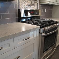 Contemporary Kitchen Countertops by Concrete Cat Design House