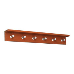 Safco - Contempo Wood Wall Rack - 6 Hook - Cherry Multicolor - 4222CY - Shop for Coat Hooks and Racks from Hayneedle.com! About Safco ProductsSafco products were specifically developed to meet the changing needs of the business world offering real design without great expense. Each product is designed to fit the needs of individuals and the way they work by enhancing comfort and meeting the modern needs of organization in the workplace. These products encourage work-area efficiency and ultimately work-life efficiency: from schools and universities to hospitals and clinics from small offices and businesses to corporations and large institutions airports restaurants and malls. Safco continues to offer new colors new styles and new solutions according to market trends and the ever-changing needs of business life.