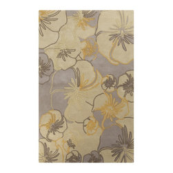 Surya - Surya Destinations Hand Tufted Tan Wool Rug, 8' x 11' - Enjoy this Surya rug in your home. Imported.Material: 100% New Zealand WoolCare Instructions: Blot Stains
