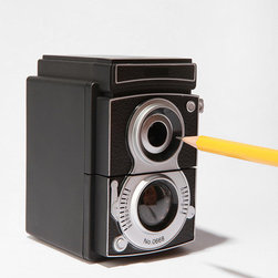 Camera Pencil Sharpener - I like to use old-school pencils at home, and this vintage camera sharpener would be a cute way to keep them sharp and ready to use.
