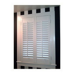 Recent Projects - Wood Plantation Shutters. Nick Nixon (Interior VUES)