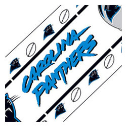 Sports Coverage - NFL Carolina Panthers Self-Stick Wall Accent Border Roll - Features: