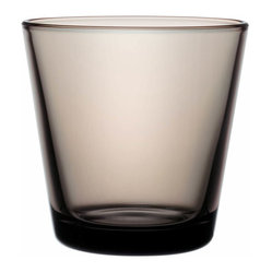 Iittala - Kartio Tumbler, Set of 2, 7 Oz. Sand - Sip from something supremely simple. You've got flawless taste, and there's no greater testament to that than tumblers that eschew superfluous decoration. Cheers!