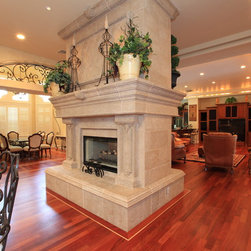Mediterranean fireplaces find unique fireplace designs online for Mediterranean fireplace designs