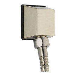 Delta Square Wall Elbow for Handshower - 50570-SS - Designed exclusively for Delta faucets.