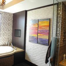 Contemporary Bathroom by Paris Furnishings, Inc.