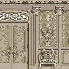 traditional interior doors by Agrell Architectural Carving