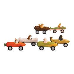 Handmade Derby Critters | Animal Race Cars - $39.00