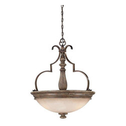 Minka Lavery - Minka Lavery 4317-299 Regents Row Pendant Light In Regents Patina - Manufacturer: Minka Lavery